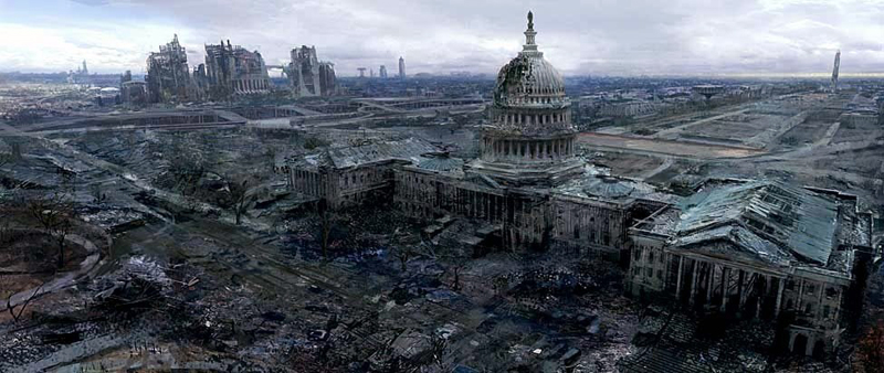 Image result for post apocalyptic america